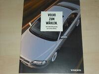45806) Volvo S 80 S 70 V 70 AWD XC S 40 V 40 Prospekt 200?