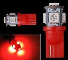 10 pcs T10 Xenon White LED 5-smd Wedge Car Light Bulb Lamp W5W 194 168 158 192