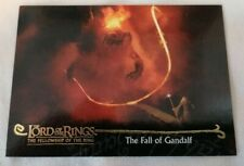 CCG - Tolkien LOTR Fellowship Of The Ring Topps The Fall Of Gandalf Card No #143