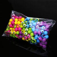 100Pcs Multi Colors Plastic Monster Eye Finger Puppets Wiggle Eyes Kids Gift Fun