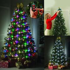 TREE DAZZLER La guirlande de Noel avec 48 Ampoules Lumineuses Télécommande