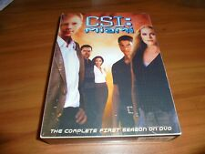 CSI: Miami - The Complete First Season (DVD, 2004, 7-Disc) Used 1st One 1