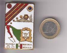 RARE PINS PIN'S BIG 3D ..  ONG LIONS CLUB AMERIQUE CONVENTION MEXICO MEXIQUE ~17