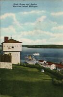 Michigan ~ MACKINAC ISLAND ~Lot of 2 Vintage Postcards *Free Shipping*