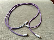*CABLE TALK MONITOR 2.1 PURPLE INTERCONNECT CABLES 1m