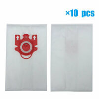 10pcs AirClean 3D Efficiency Dust Bags for Miele FJM C1 & C2 Synthetic Type