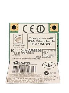 WLAN Mini PCIexpress WiFi Card ATH-AR5B95 802.11b/g/n MAC: 18F46A1E9DEE(21)