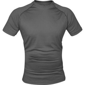 Viper Army Style Mesh tech Sweat Wicking Technical T-Shirt - Titanium Grey