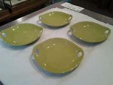 NEW Crate & Barrel Kai Citrus Bowls Set of 4, Dining Bowls
