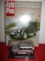 mercedes G 500 1993 + fascicule revue auto plus autoplus scale 1/43 neuf