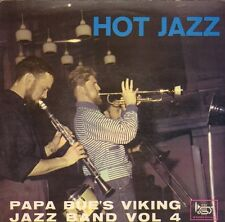 "PAPA BUE'S VIKING JAZZBAND - Hot Jazz Vol. 4 (VINYL EP 7"" STORYVILLE)"