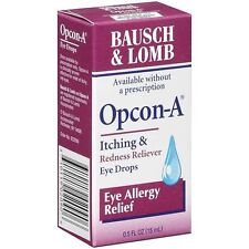 Opcon-A Eye Drops Itching & Redness, Allergy Relief 0.5 oz