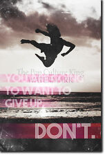 MOTIVATIONAL MARTIAL ARTS POSTER 2 - KARATE QUOTE MOTIVATION PHOTO PRINT GIFT