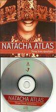 Bellydance NATACHA ATLAS 2001 RARE 3 Song SAMPLER TST PRESS PROMO DJ CD Single