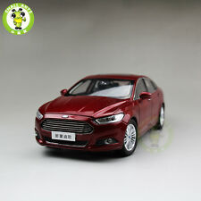 1:18 2013 Ford New Mondeo Diecast car model for collection gifts hobby Red
