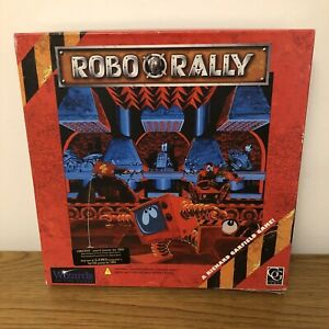 WOTC Robo Rally Vintage 1990s Board Game OPENED NEVER USED