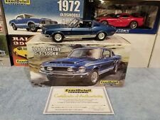 1:18 Lane Exact Detail 1968 Shelby GT500 KR GT-500  Mustang Coupe Blue #33/1250