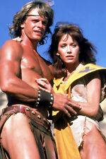 Marc Singer As Dar And Tanya Roberts As Kiri The Beastmaster 11x17 Mini Poster