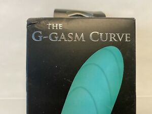 The G-GASM CURVE Vibrator, Adam & Eve, Rechargeable TEAL Submersible - CLOSEOUT