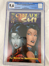 Cyblade/Shi #1 (1st Witchblade) CGC 9.6 White Pages