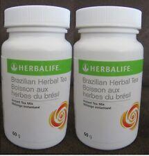 2 Herbalife Brazilian Herbal Tea 60 g (Natural-Pick-Me-Up) - FREE SHIPPING