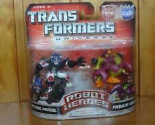 Transformers Universe Robot Heroes Optimus Primal and Tarantulas