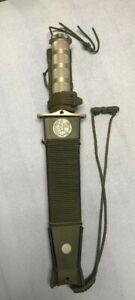 Aitor JUNGLE KING I Survival Fixed Blade Knife & Sheath Made in Spain unused