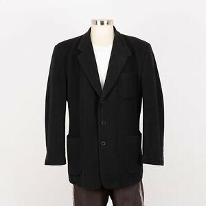Cashmere Blend Soft Blazer Jacket Mens Size 48L