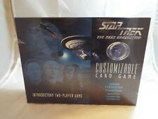 STAR TREK CCG FEDERATION INTRODUCTORY 2-PLAYER GAME