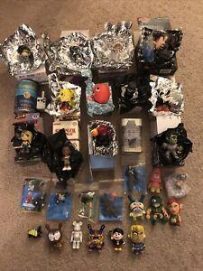 Huge 30 Vinyl Figure Lot Collection Kidrobot Mystery Minis LEGO Bear Brick