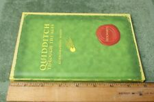 Vintage Harry Potter Quidditch Book
