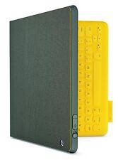 Logitech FabricSkin Tastatur Folio für Apple iPad 2-3-4 Gelb UK -QWERTY -005308