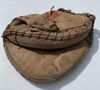 Vintage Rawlings HOH-200LTC Lite Toe Gold Glove Wing Tip Baseball Catchers Mitt