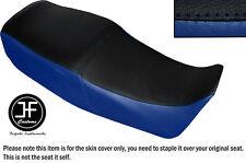 Royal Azul Negro automotriz Vinilo personalizado para SUZUKI GS 450E de doble cubierta de asiento solamente