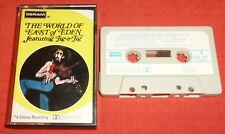 EAST OF EDEN - VERY RARE UK DERAM CASSETTE TAPE -WORLD OF - PAPER LABELS