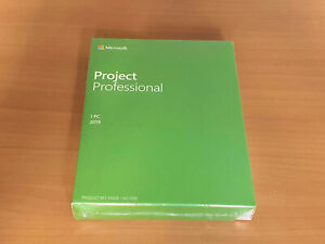 Brand New Microsoft project 2019 professional Retail Package