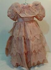 Vestito bambola antica dress doll per cartapesta composizione celluloide anni 30
