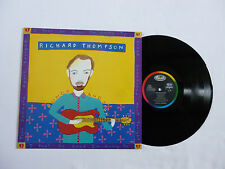 RICHARD THOMPSON ~ RUMOR AND SIGH ~ QUALITY NEAR MINT 1991 VINYL LP ~ RARE FOLK