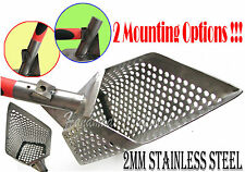 *5GRANIK* 2.0mm Stainless Steel Beach Sand Scoop Metal Hunting Detecting Tool