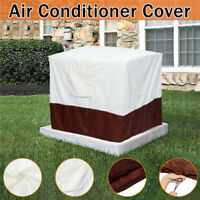Outdoor Air Conditioner Cover Waterproof Square Outdoor Protect Cover