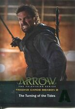Arrow Season 2 Green Foil Parallel Base Card #44 The Turning of the Tides