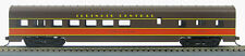 HO 72 Ft Pass. Dining Car , RTR Illinois Central (Brown/Orange) (1-1000F)