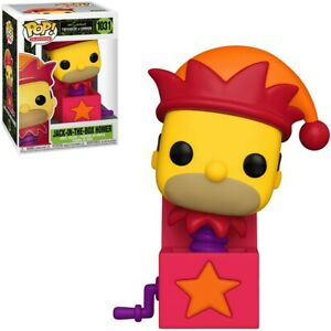 FUNKO POP! THE SIMPSONS TREEHOUSE OF HORROR JACK IN THE BOX HOMER VINYL FIGURE