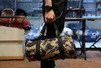 Camo Bape A Bathing Ape Handbag Carrying Shoulder Messenger Travel Cylinder Bag