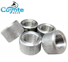 """Free Shipping 5 Pack of 1/2"""" NPT Female Pipe Thread Weld Bungs Aluminum Bung"""