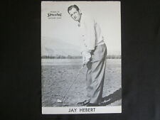 1950's JAY HEBERT Golf STAR Player SPALDING Advisory Large Real Photo Card Sign