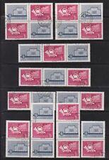 Gestempelte Briefmarken aus Europa als Sammlung