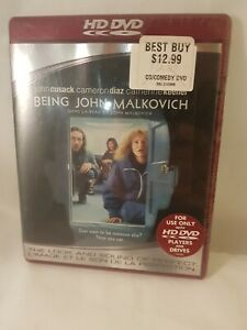 Being John Malkovich (HD-DVD, 2007) Brand New English/French Not for DVD