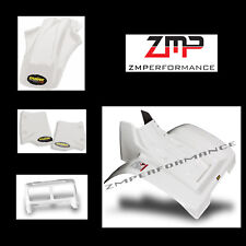 NEW HONDA ATC 350X 85 - 86 WHITE PLASTIC FRONT AND REAR FENDER COMPLETE SET
