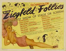 Ziegfeld follies Fred Astaire #1movie poster